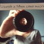 Usando a lente 50mm para fazer fotos macro