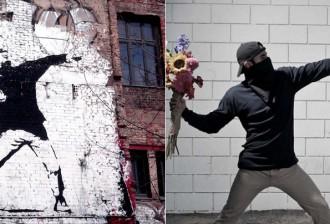 Banksy reinventado em fotografias!