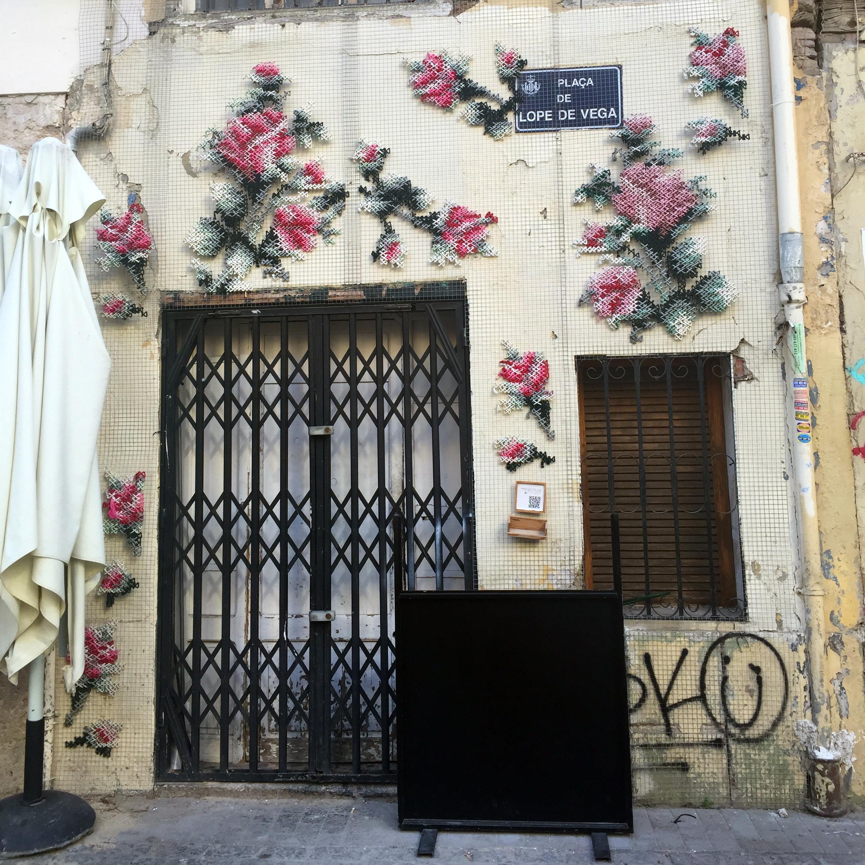 bordado parede valencia